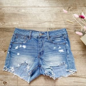 American Eagle Tomgirl Shorts size 0